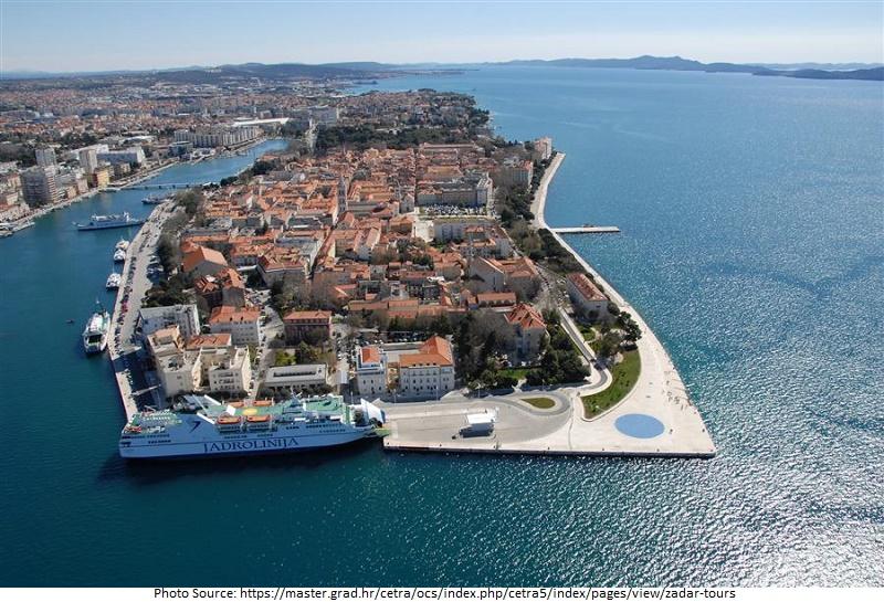tourist attractions in Zadar