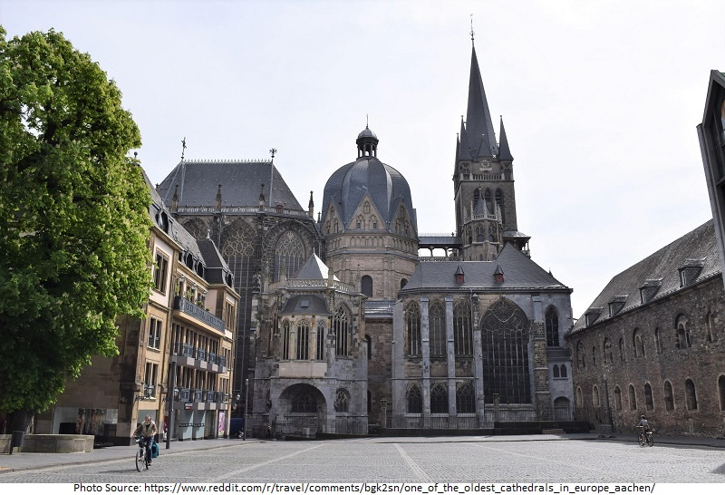 tourist attractions in Aachen Cathedral
