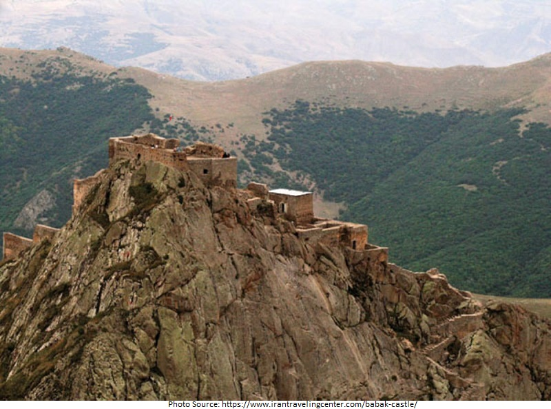 tourist attractions in Babak Castle