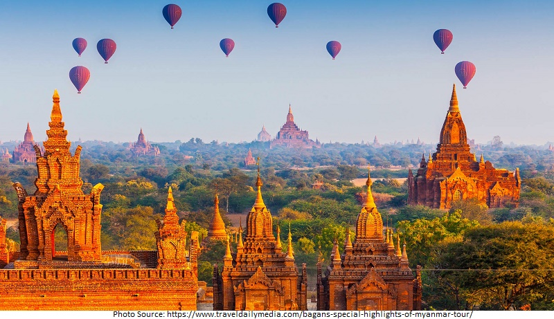 tourist attractions in Bagan
