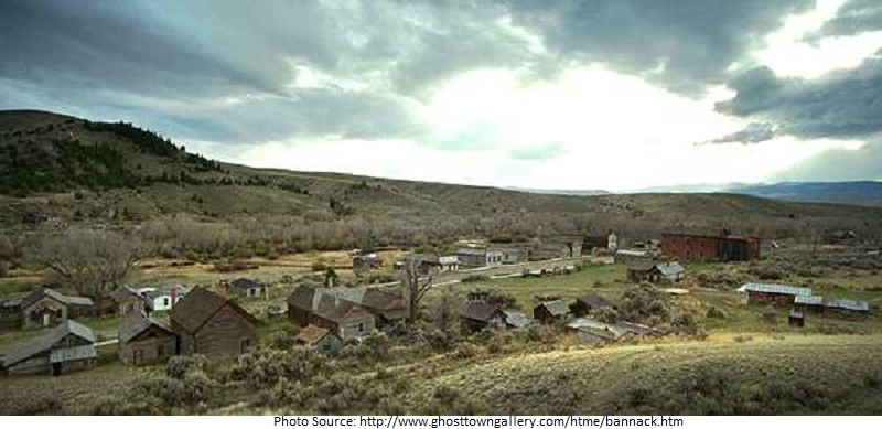 tourist attractions in Bannack