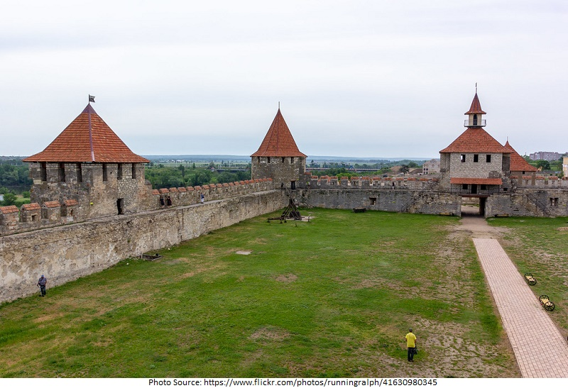 tourist attractions in Bendery Fortress