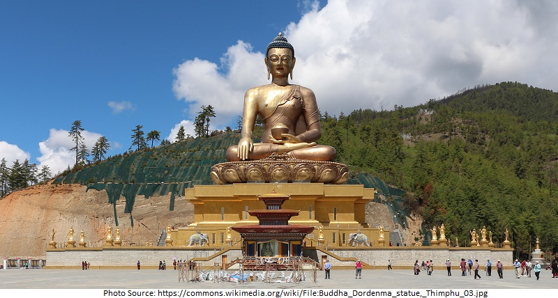 tourist attractions in Buddha Dordenma Statue
