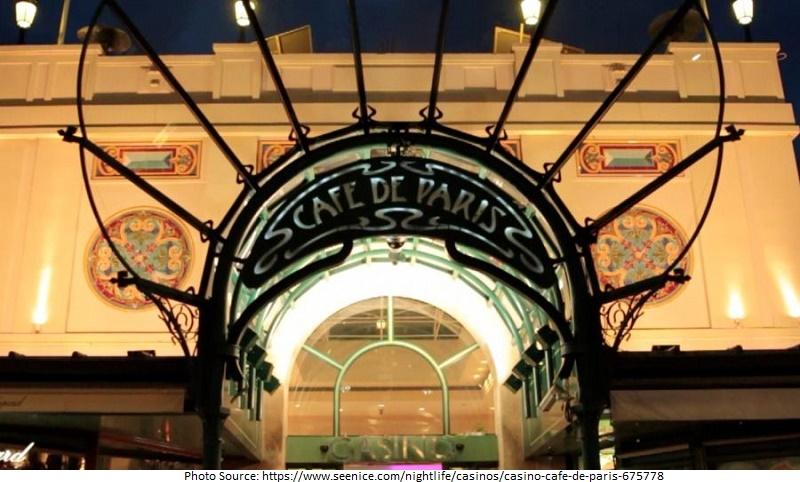 tourist attractions in Casino Café de Paris