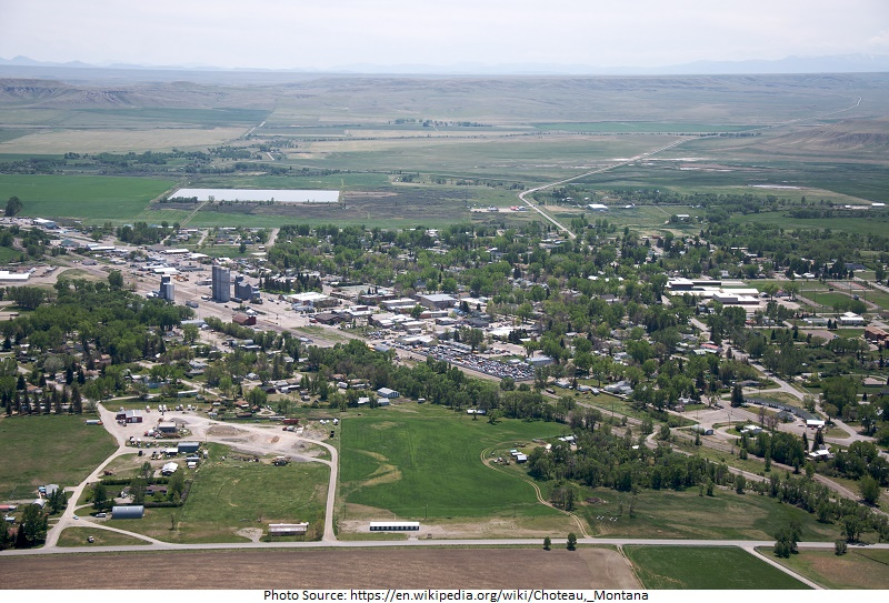 tourist attractions in Choteau