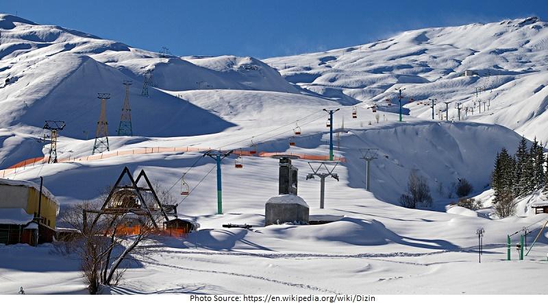 tourist attractions in Dizin