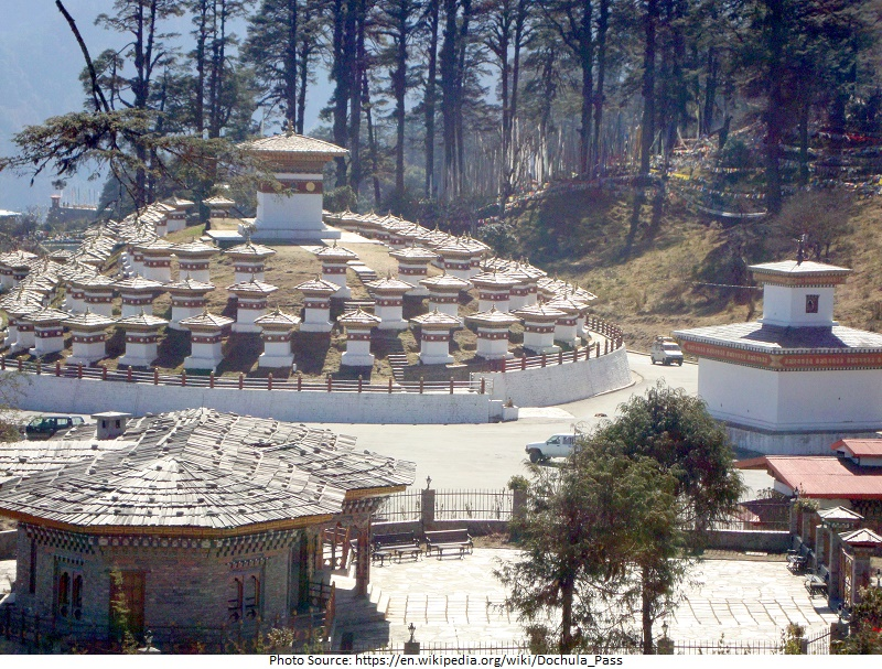 tourist attractions in Dochula Pass
