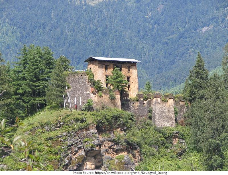 tourist attractions in Drukgyel Dzong Monastery