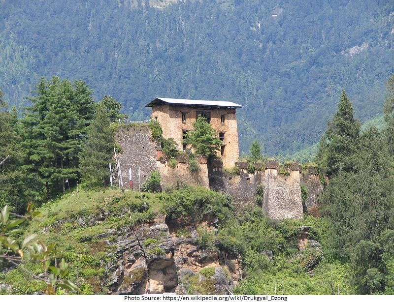 tourist attractions in Drukgyel Dzong