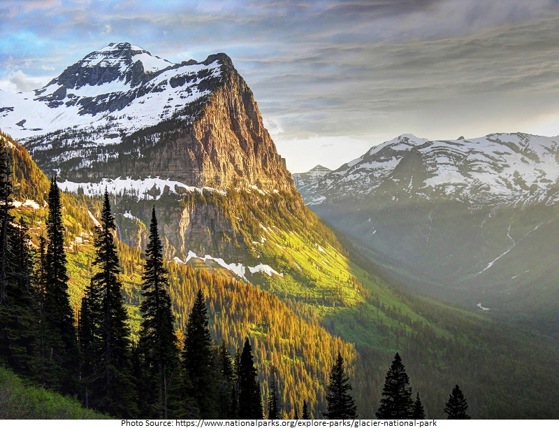 tourist attractions in Glacier National Park