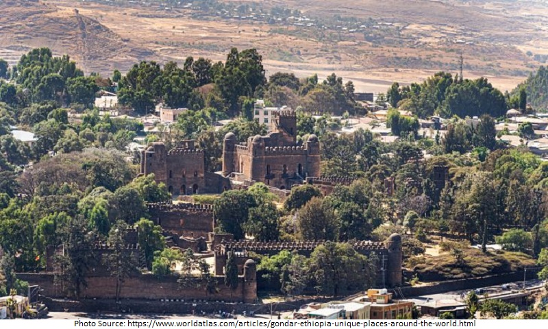 tourist attractions in Gondar