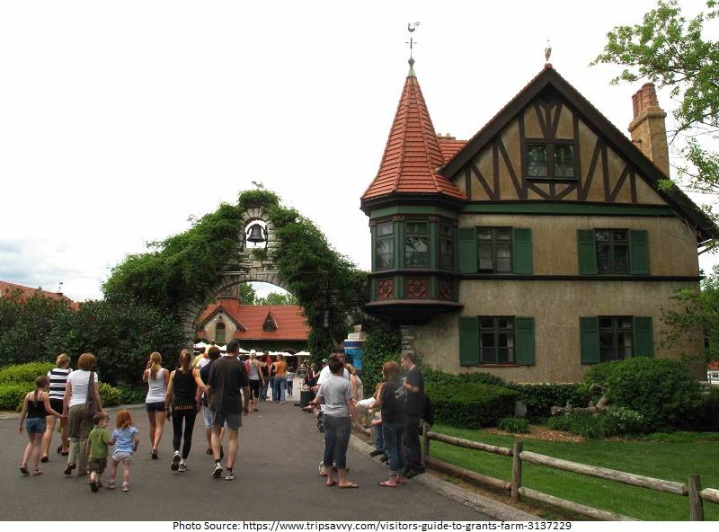 tourist attractions in Grant's Farm