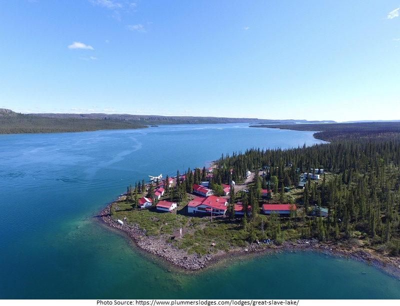 tourist attractions in Great Slave Lake