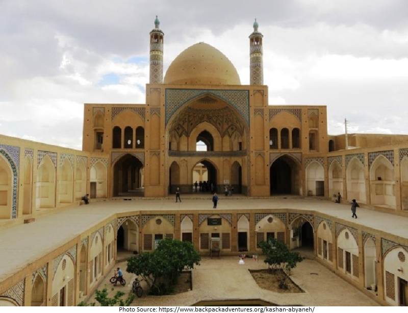 tourist attractions in Kashan