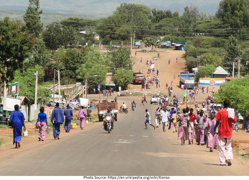 tourist attractions in Konso