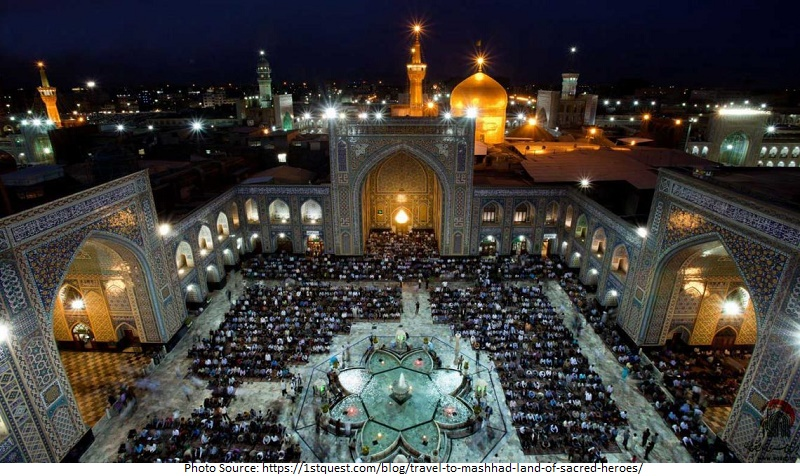 tourist attractions in Mashhad