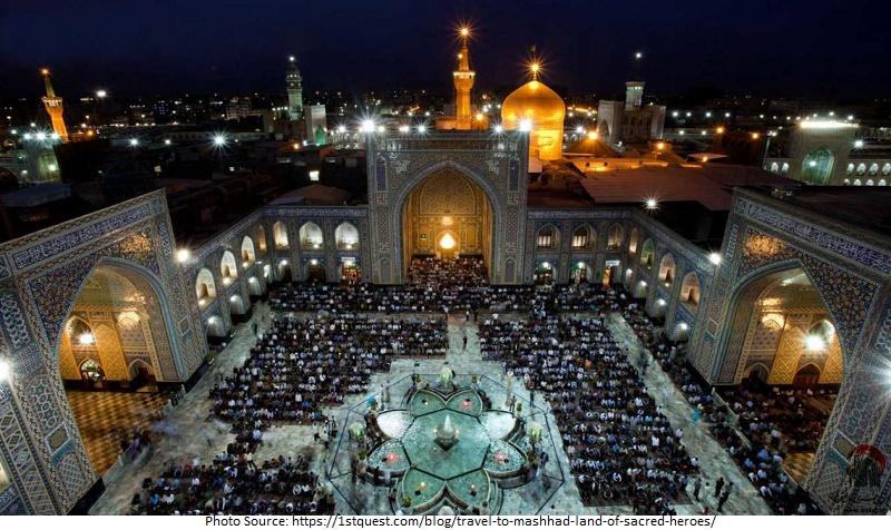 tourist attractions in Mashhad