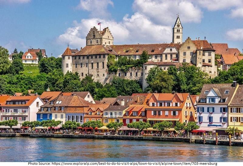 tourist attractions in Meersburg
