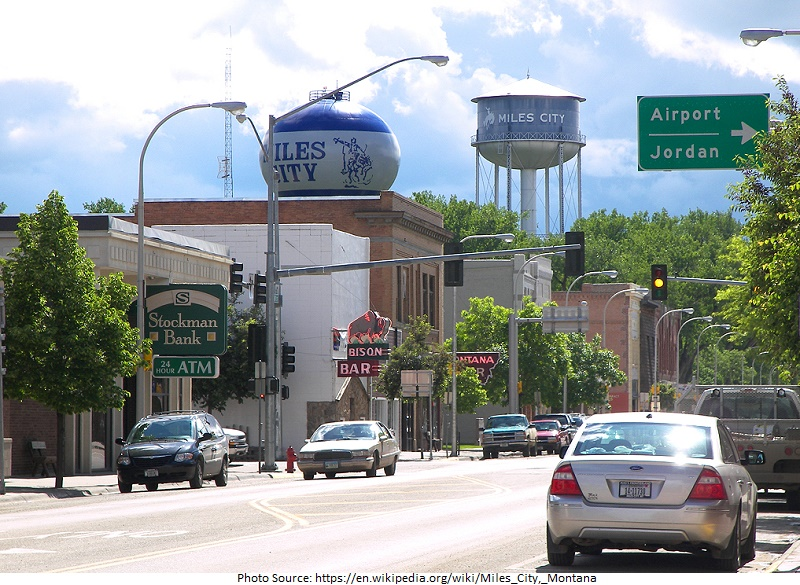 tourist attractions in Miles City