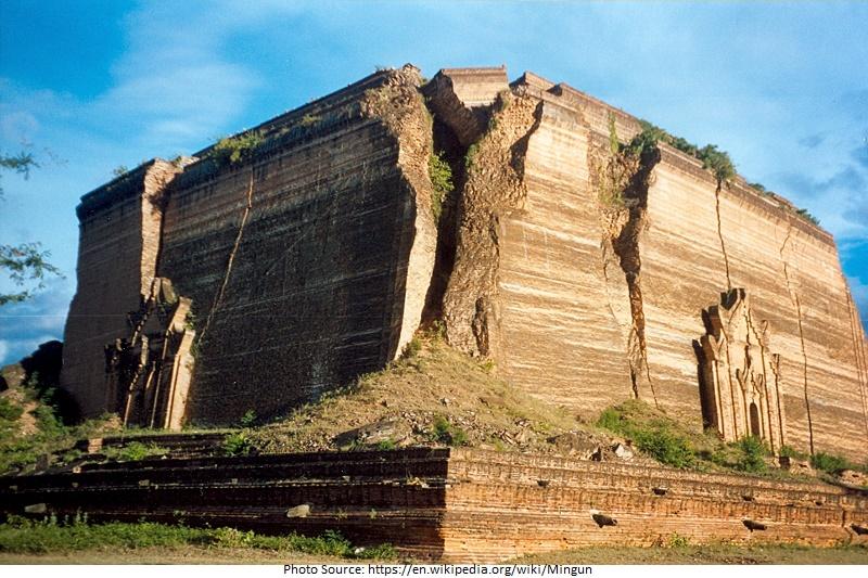tourist attractions in Mingun