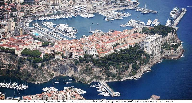 tourist attractions in Monaco Ville or La Rocher