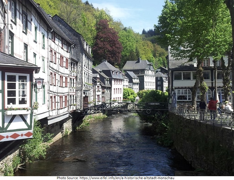 tourist attractions in Monschau