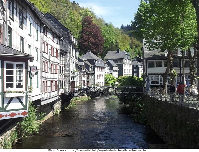 tourist attractions in Monschau