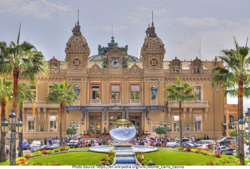tourist attractions in Monte Carlo Casino
