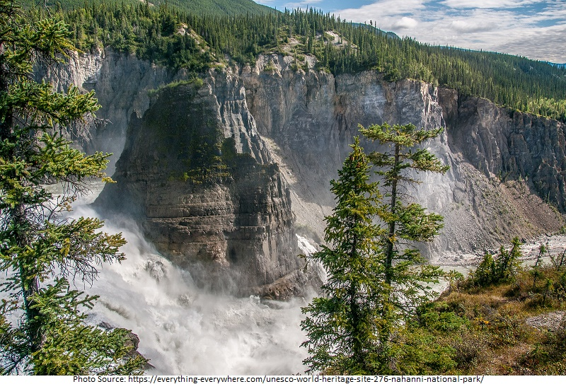 tourist attractions in Nahanni National Park