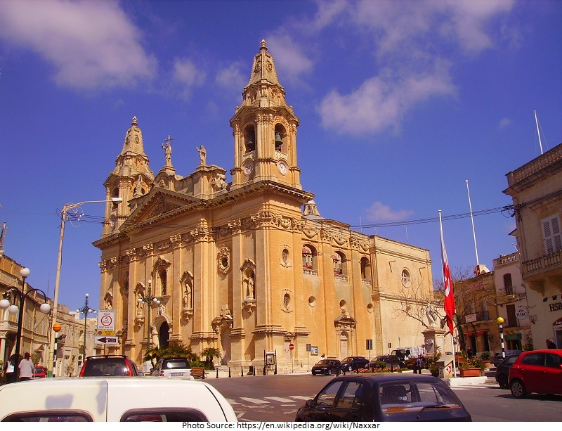 tourist attractions in Naxxar