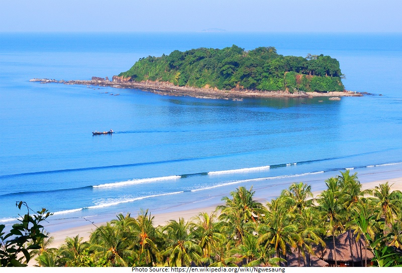 tourist attractions in Ngwe Saung