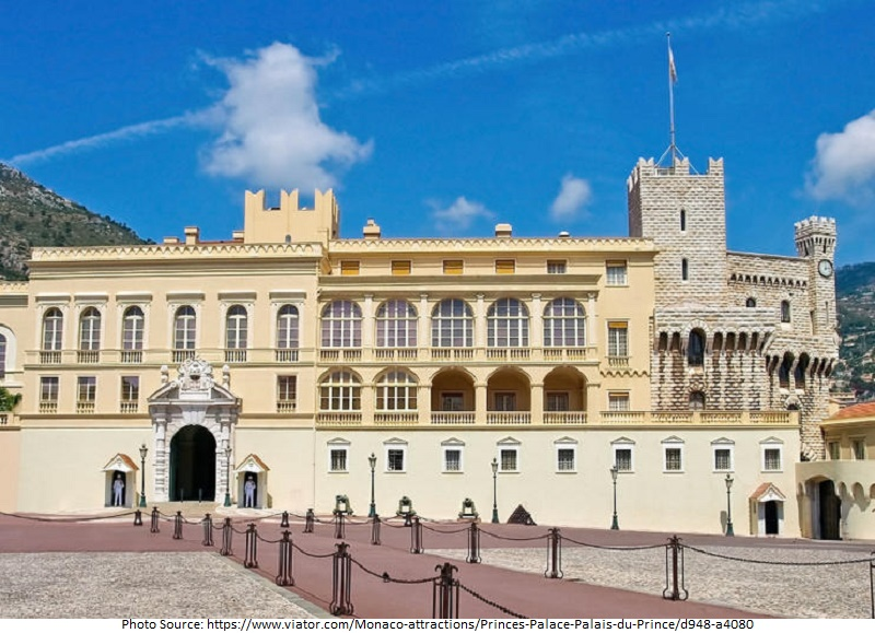tourist attractions in Palais du Prince