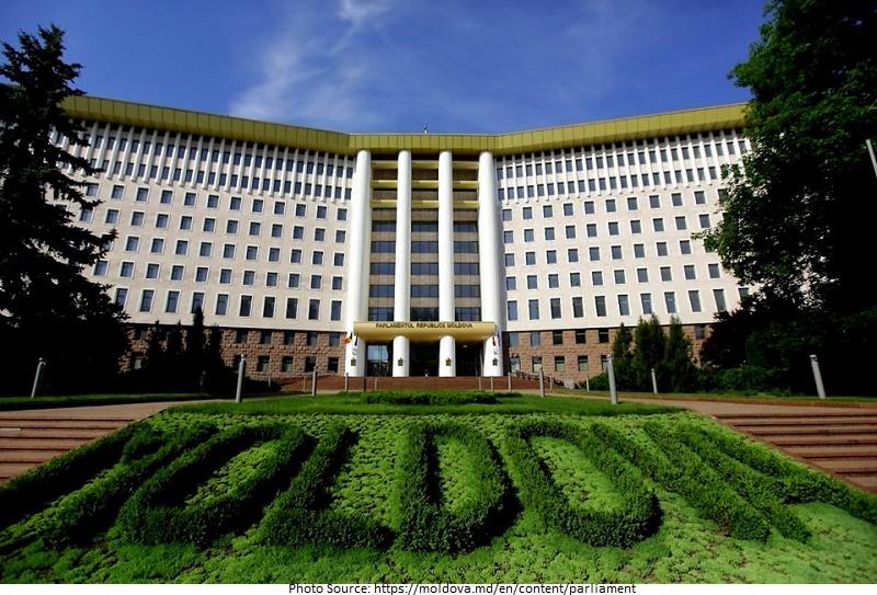 tourist attractions in Parliament of the Republic of Moldova