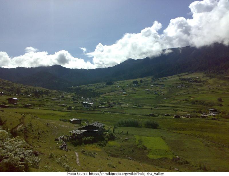 tourist attractions in Phobjikha Valley