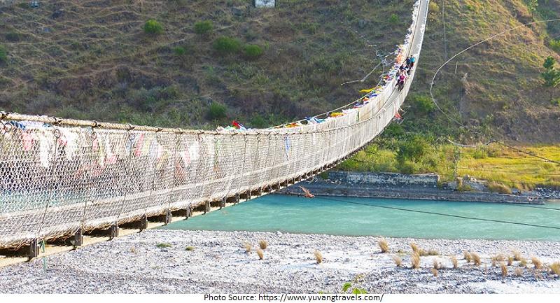 tourist attractions in Punakha Suspension Bridge