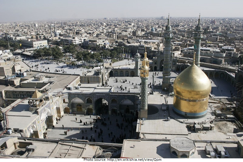 tourist attractions in Qom
