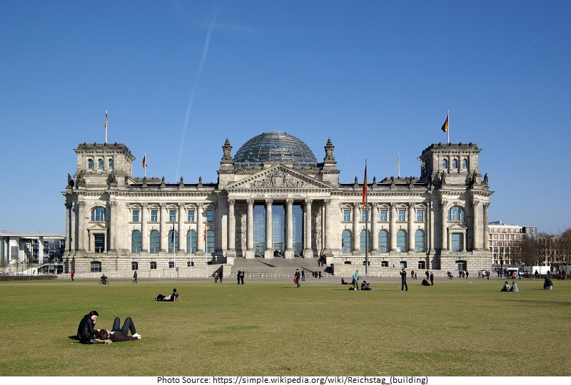 tourist attractions in Reichstag in Berlin