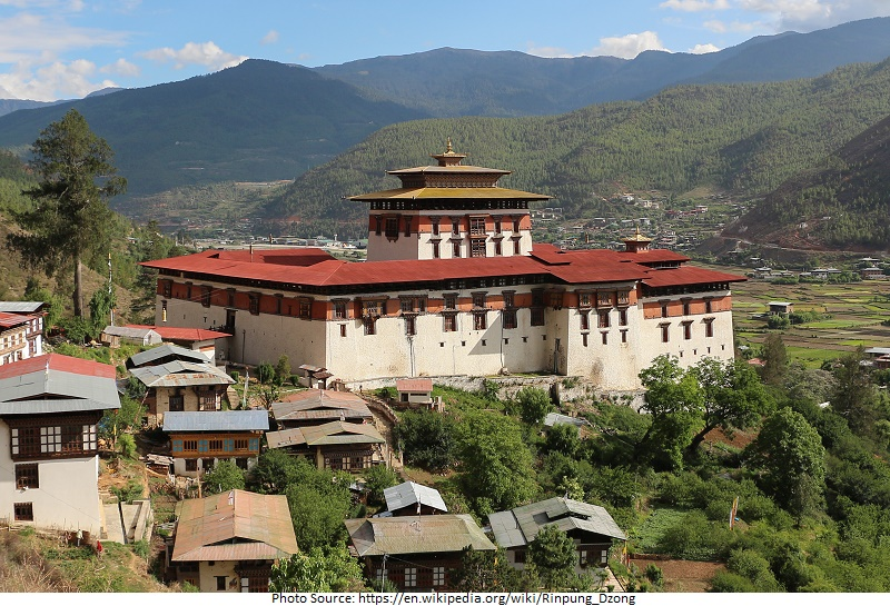 tourist attractions in Rinpung Dzong
