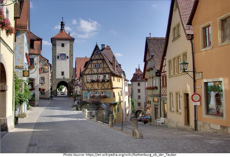 tourist attractions in Rothenburg ob der Tauber