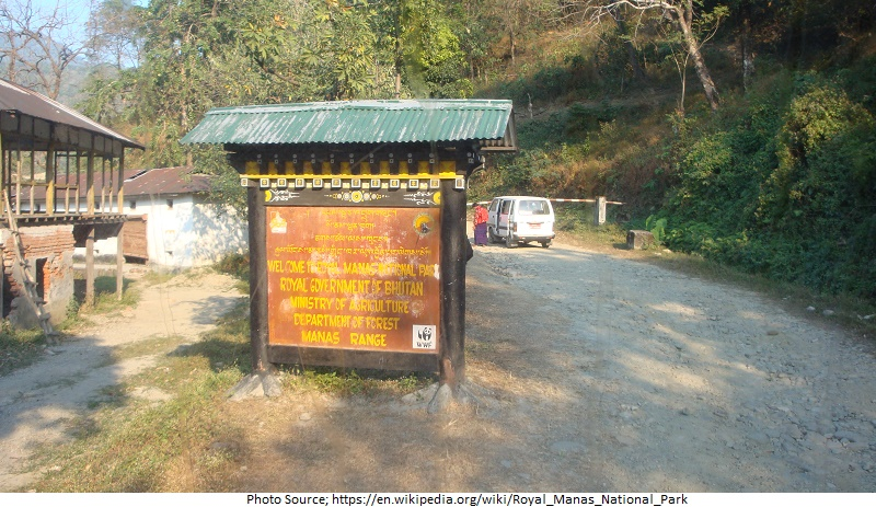 tourist attractions in Royal Manas National Park