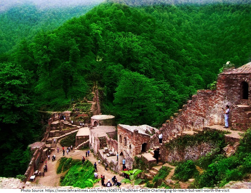 tourist attractions in Rudkhan Castle