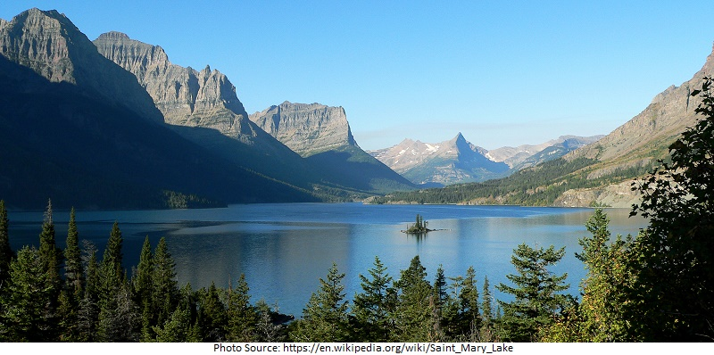 tourist attractions in Saint Mary Lake