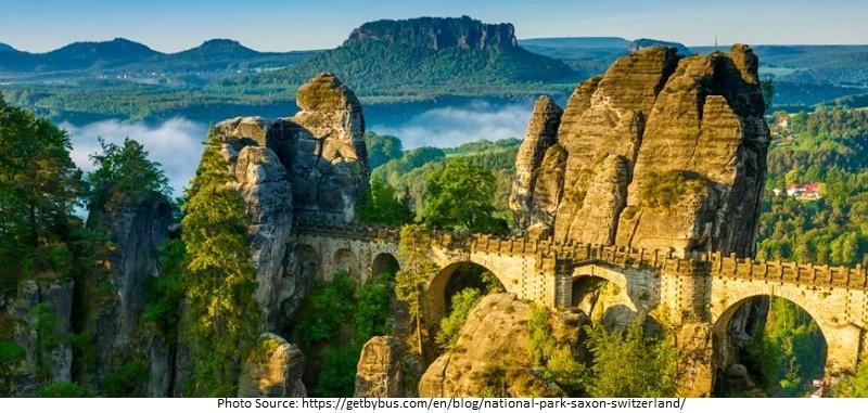 tourist attractions in Saxon Switzerland National Park