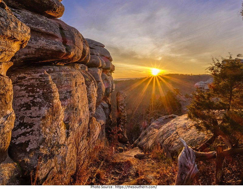 tourist attractions in Shawnee National Forest