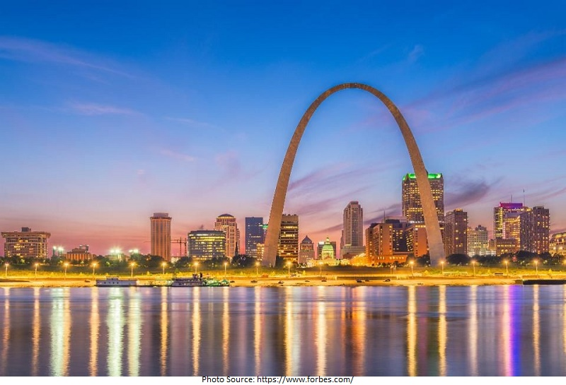 tourist attractions in St. Louis
