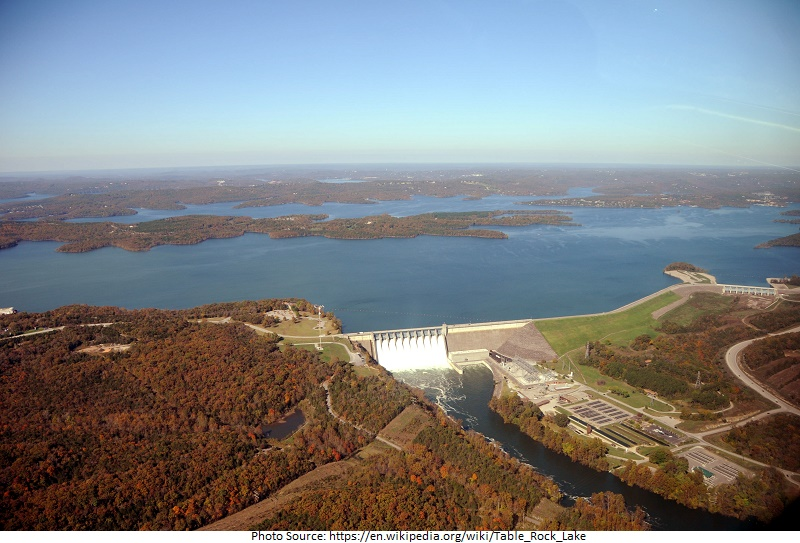 tourist attractions in Table Rock Lake