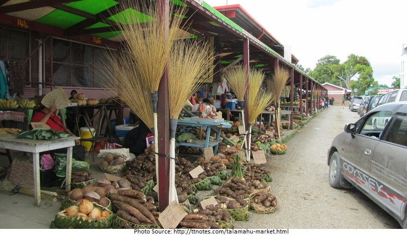 tourist attractions in Talamahu Market