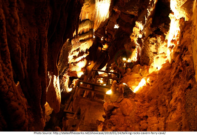 tourist attractions in Talking Rocks Cavern