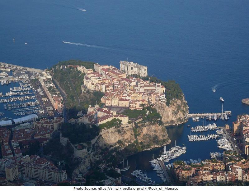 tourist attractions in The Rock of Monaco