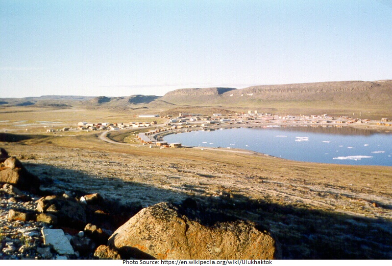 tourist attractions in Ulukhaktok